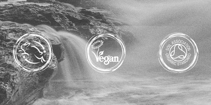Vegan, Cruelty and Organic